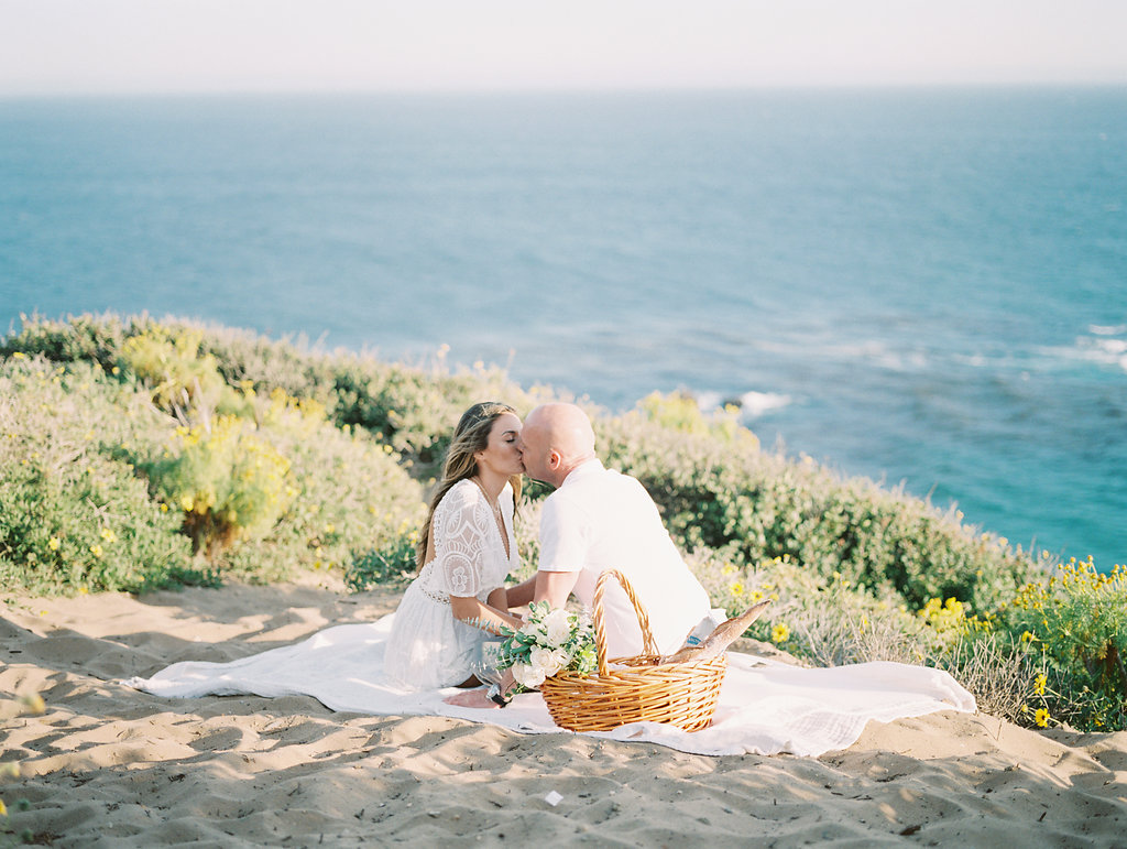 Amy Golding Photography Malibu beach engagement